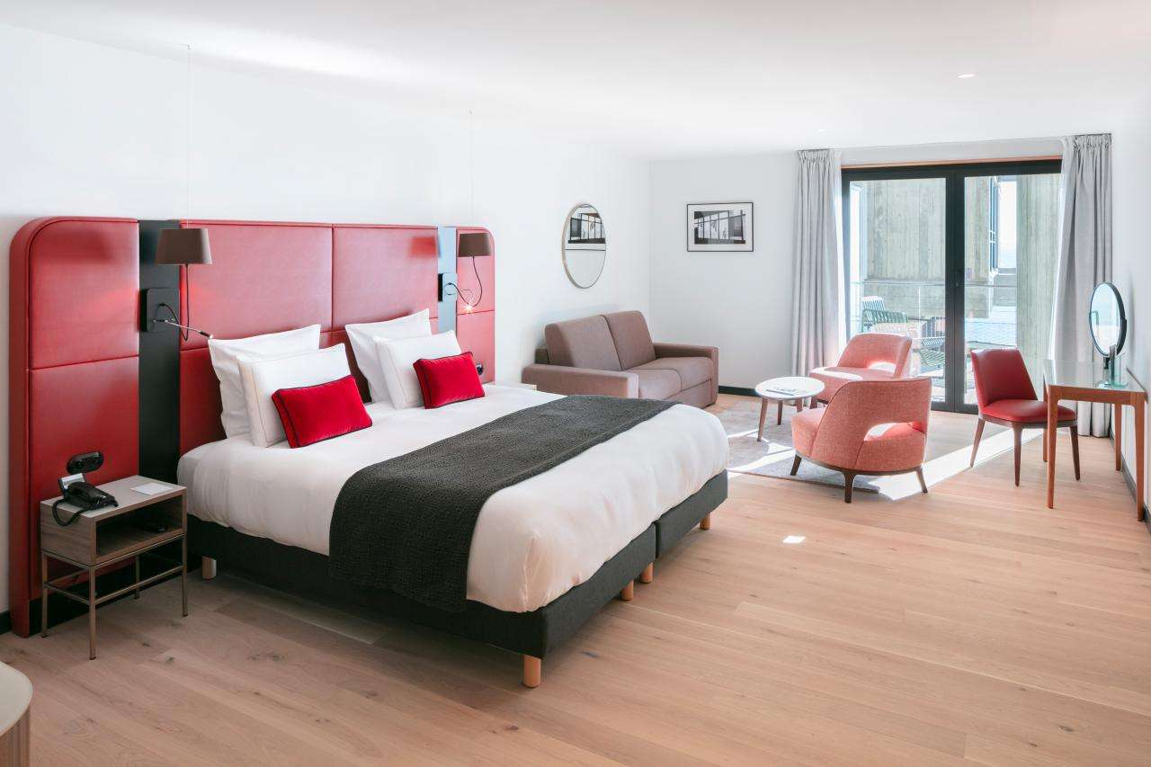 Hôtel Sainte-Barbe - Chambre