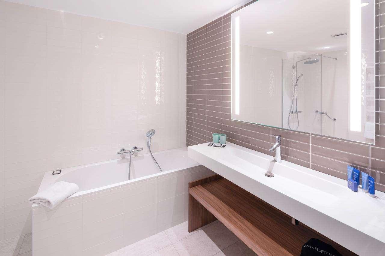 Hôtel Sainte-Barbe - Chambre - Salle de bain