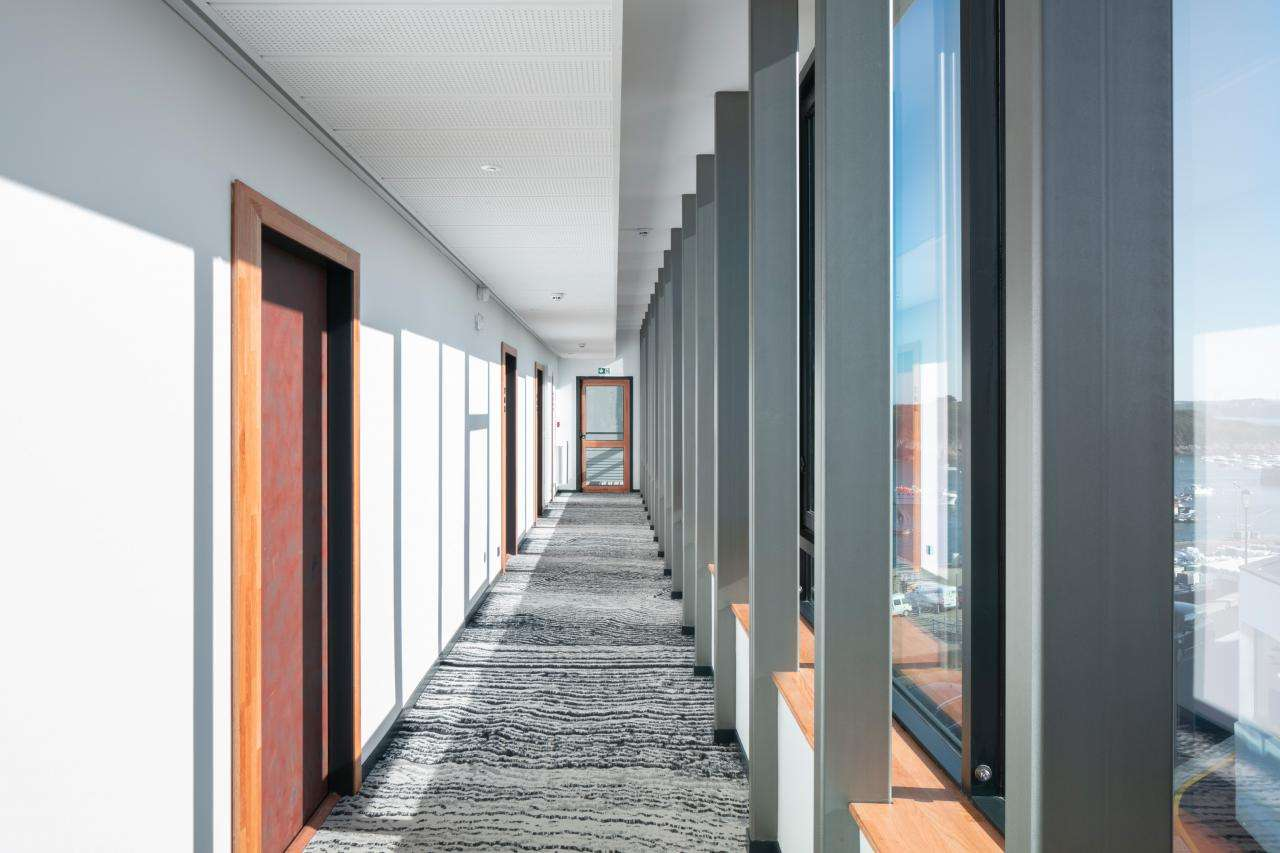 Hôtel Sainte-Barbe - Couloir