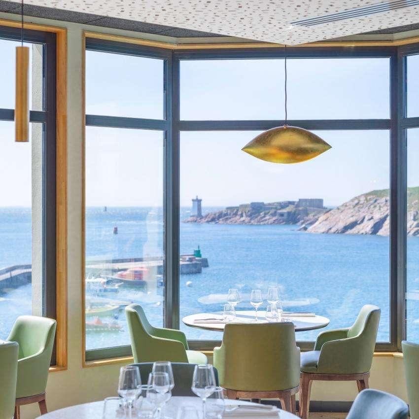 Hôtel Sainte-Barbe - Restaurant La Corniche