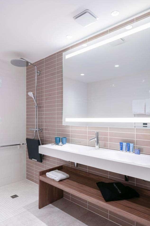Hotel Sainte-Barbe - Room - Bathroom